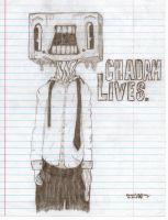 CHADAM LIVES. by snickydoodle