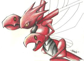 New Scizor by TheSonoftheDarkness