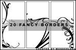 Fancy Icon Borders by Foxxie-Chan