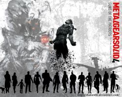 Metal Gear Solid 4 Wallpaper by ShakawBR