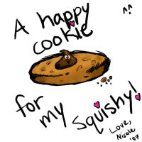 Happy Cookie for Squishy by phangirl