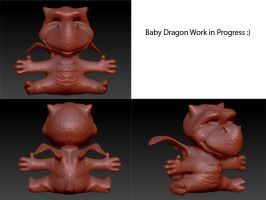 Baby Dragon Progress by iEvEtS
