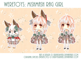 [CLOSED] Weretoys: MishMash Rag Girl by Staccatos