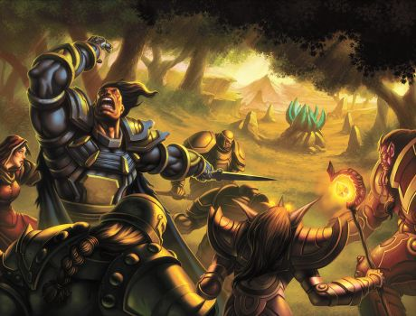 WoW TCG - Buying Time by UdonCrew
