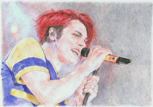 Gerard Way. by mrsUrie21