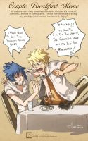 Narusasu Breakfast Meme by msloveless