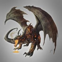 Magma Dragon, Ancient by JasonEngle