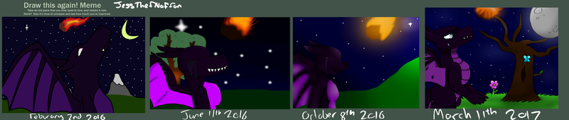 Draw this again meme (This night is beautiful) by JessTheFNaFfan
