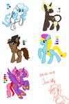 MLP - Request Sketch Dump 4 by CindryTuna