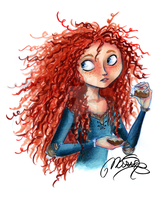 Merida by MarineElphie