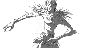 Ryuk Sketch by Yurusen