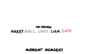 Simple One Direction Wallpaper - Midnight Memories by lollipops-purple