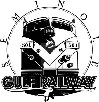 Seminole Gulf Railway Logo by rjonesdesign