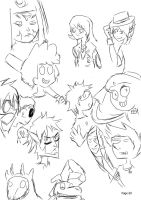 OMG OCT Auditioner Sketchies 4 by huffnut