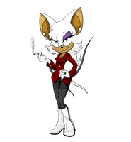 Rouge the Bat - Sonic Boom by DelDiz