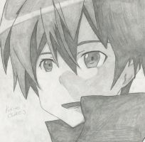 Kirito - S.A.O. by AvianHooded