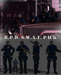R.P.D. S.W.A.T. Team Pack by DamianHandy