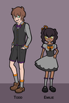 Todd and Emilie by PrinceofSpirits