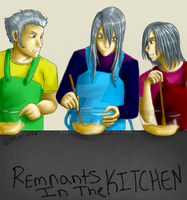 Remnants in the kitchen by WolfehLuff