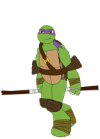 Donatello by Red-eyed-Jaguar