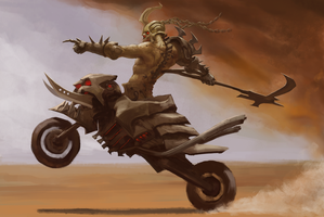 Mad Max Hecarim by AM1BA
