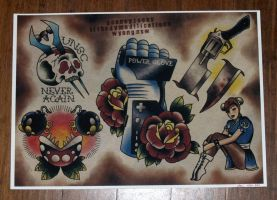 Video Game Flash Print by G00NEYT00NS