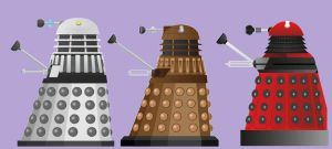 daleks through ages by hitch-232