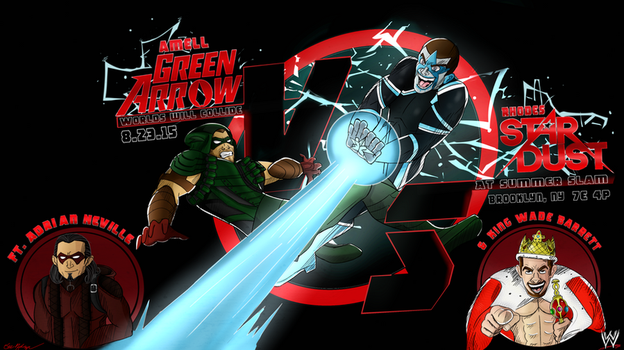 When Worlds Collide (Green Arrow V. Stardust Pt 2) by Oreomega95