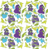 Apes pattern by Bloodrican