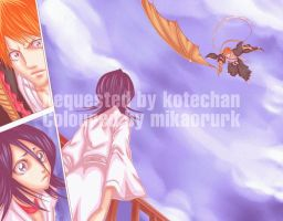 Ichiruki: request for kotechan by mikaorurk
