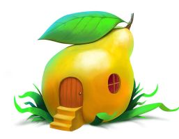 Fruit-house by valpos