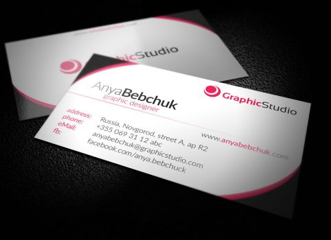 Simple Business Card by BlinVarfi