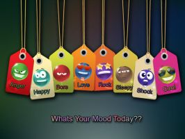 What Is Your Mood Today??-Wallpaper by Uzairrj