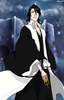 Handsome Byakuya by Satinels