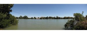 The wire across the rhone by FiLH