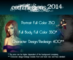 Commissions 2014 by Exael-X