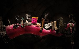 Steampunk Typography by aharmon