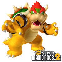 New Super Mario Bros. 2: King Bowser by Legend-tony980