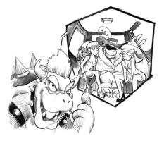 Bowser's Dream by cluedog