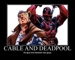 Cable and Deadpool by iceman-3567