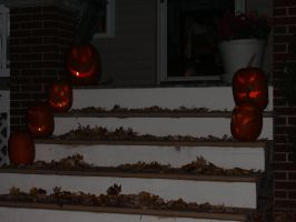 Snapshot of pumpkins by TimeyWimeyWearables