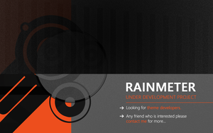Looking for Rainmeter Theme Developers by andreascy