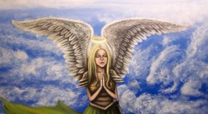 Art Angel by PsychicMindWars777