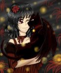 Amongst the Spider Lillies by Firefly by fancylunastars