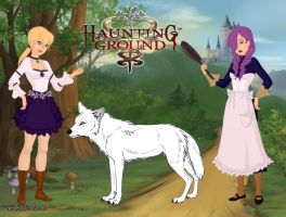 Hauting Ground,a dark fairy tale. by Astrogirl500