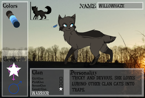 WillowHaze - Application by BIueMoon