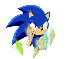 Sonic X Original ver. Sonic TH by SiscoCentral1915