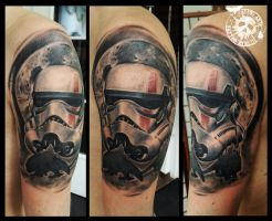 Sandtrooper by CAMOSartTATTOO