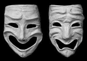 Theatre Masks by pwcca87