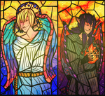 Stained Glass by MagicBunnyArt
